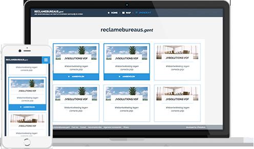 Overview lijst voorbeeld Zonnebanken